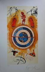 Wheel of fortune - Lithograph - 1978