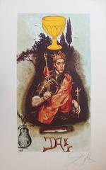 King of cups - Lithograph - 1978