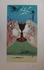 Ace of cups - Lithograph - 1978
