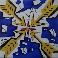 Arrows - Original ceramic tile - 1954