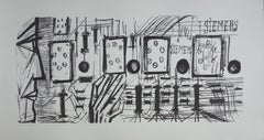 Electronic Circuits - Lithograph on vellum - 1968
