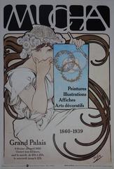 MUCHA - Vintage Exhibition Poster 1980