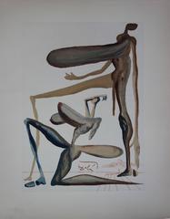 Purgatory 22 - Extravagance - woodcut - 1963