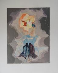 Heaven 15 - Dante's Ecstasy - Original woodcut - 1963