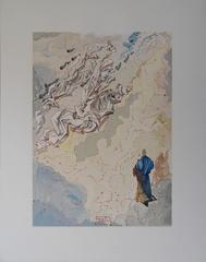 Heaven 20 - The Sixth Heaven of Jupiter - Original woodcut - 1963