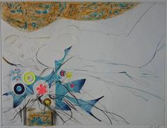Flowers of Utopia - Original handsigned etching - 50ex