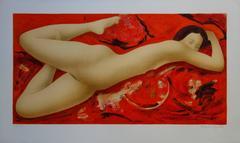 Fire and Flame - Original handsigned lithograph - 275ex