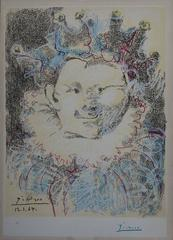 Carnival Figure - Handsigned lithograph
