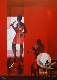 Jazz : Hot Swing- Original handsigned lithograph - 275ex