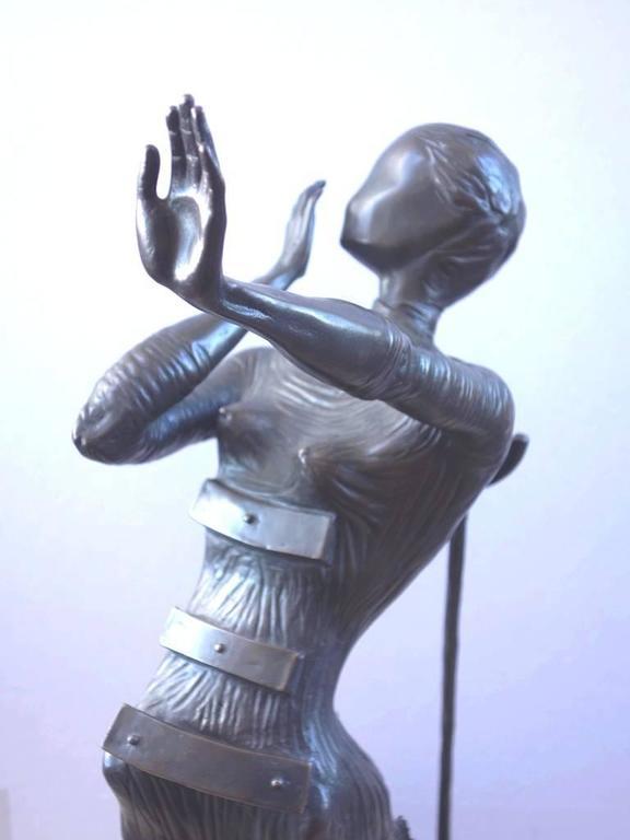 Venus Afire - Tall bronze sculpture - Signed /350ex 8