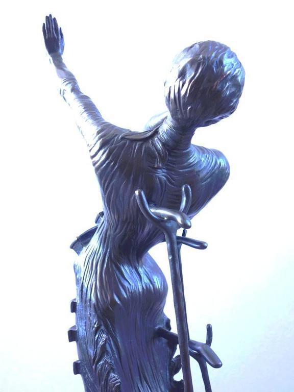 Venus Afire - Tall bronze sculpture - Signed /350ex 9
