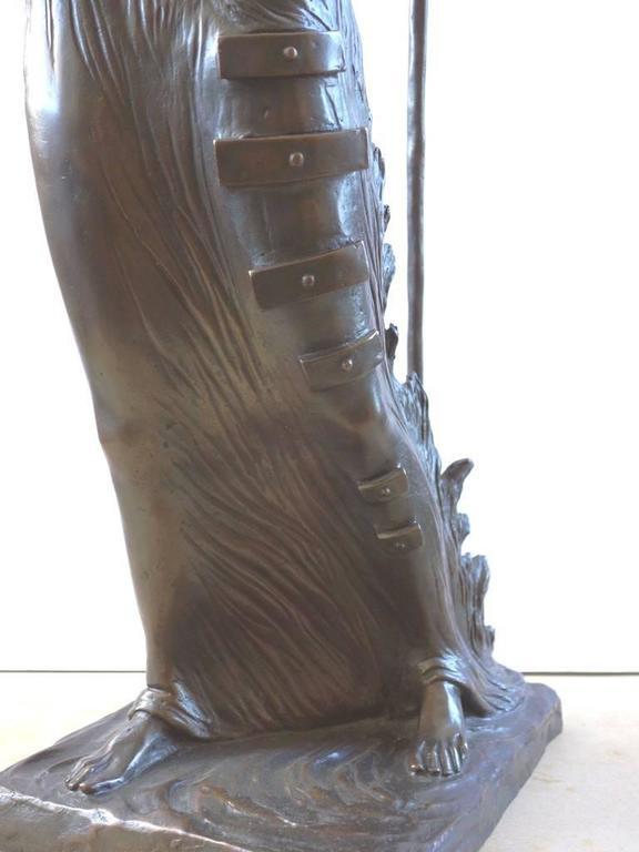 Venus Afire - Tall bronze sculpture - Signed /350ex 10