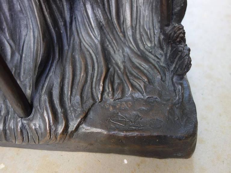 Venus Afire - Tall bronze sculpture - Signed /350ex 2