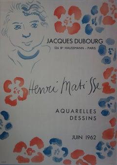 Jacques Bubourg : Aquarelles, Dessins - Lithograph - Mourlot 1962