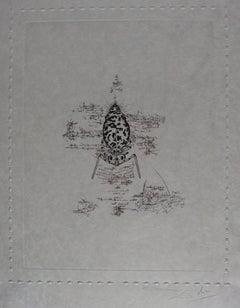 Ten Recipes of Immortality : Dalianus Galae - Signed etching