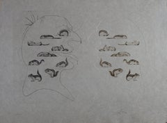 Ten Recipes of Immortality : Holography of the Squirrel - Signed etching