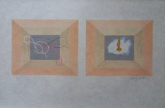 Air and Fire - Signed lithograph - Mourlot 1953