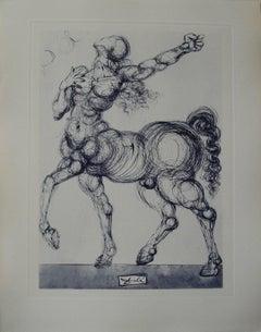 Le Centaure - Original etching - 150ex