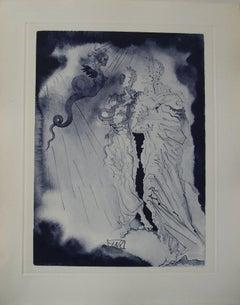 A Black Devil - Original etching - 150ex