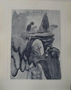 The liars - Original etching - 150ex