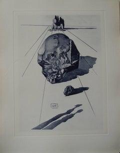 The punishment of hypocrites - Original etching - 150ex