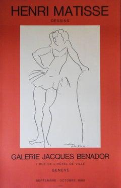 Christiane : Dancer - Lithograph Poster - Galerie Jacques Benador