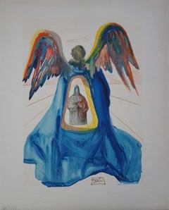 Purgatory 33 : Dante purified - woodcut - 1963
