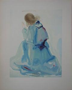 Heaven 2 : The Angel - woodcut - 1963