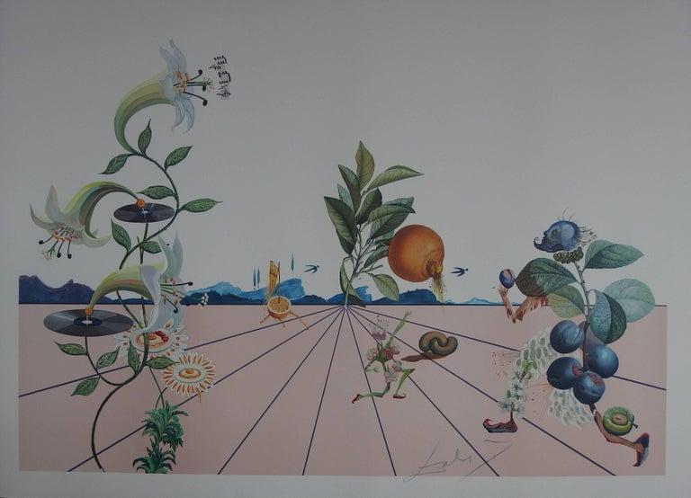Salvador Dalí Figurative Print - Flordali I - Original Lithograph - 1981