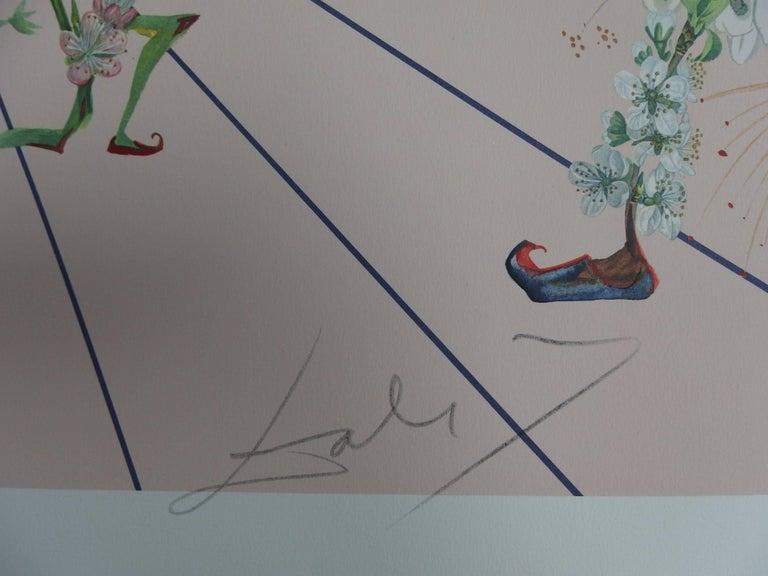 Flordali I - Original Lithograph - 1981 - Print by Salvador Dalí