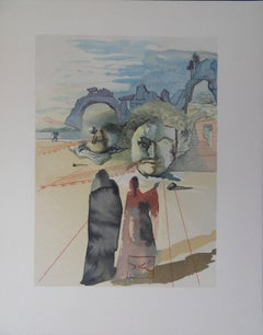 Purgatory 20 - Avarice et extravagance - woodcut - 1963
