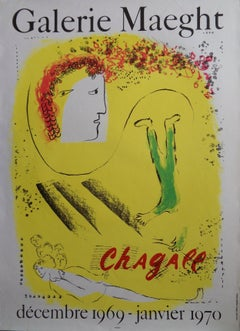 Yellow Dream - Original lithograph poster - Mourlot 1969