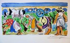The Harvest - Original handsigned lithograph