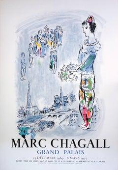 Magician of Paris - Lithograph poster - Mourlot 1970