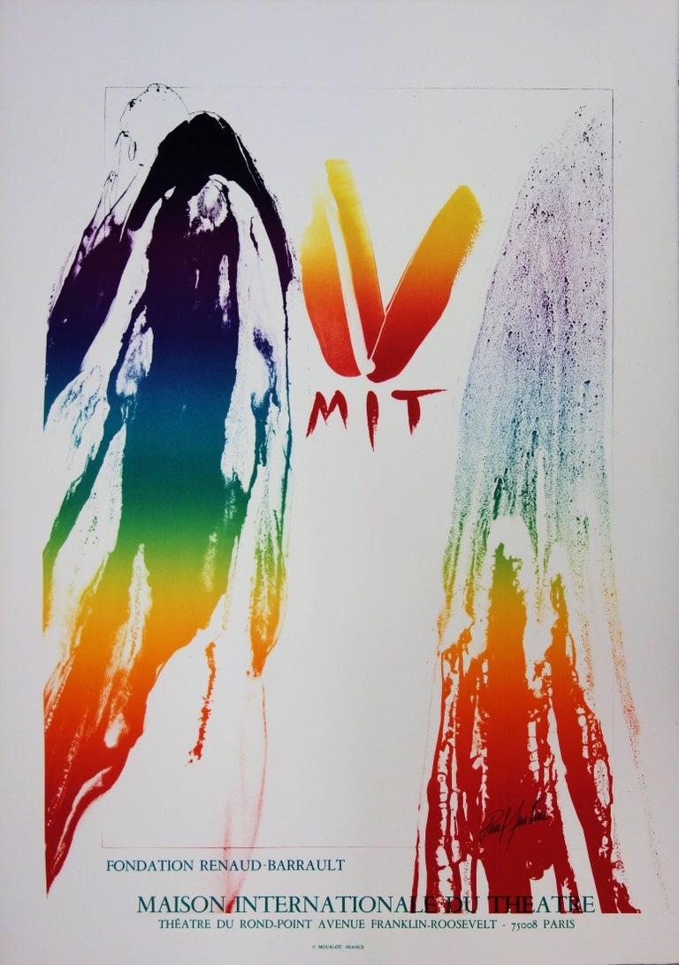MIT International Theater - Original lithograph - Mourlot