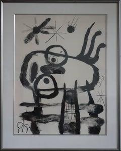 Album 19 : Plate 5, Funny Man - Original handsigned lithograph - 75 copies