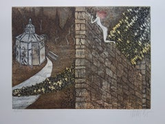 The Other Side of the Wall - Original Handsigned Etching - 150ex