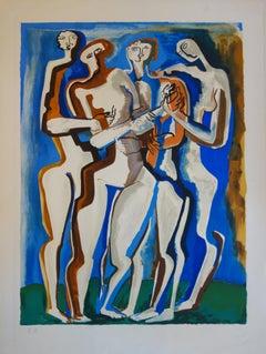 Four Women - Original lithograph