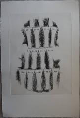 Impression of violin - Original etching - 75 copies