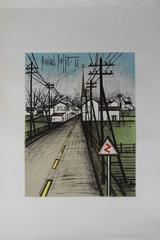 The Road - Original signed lithograph - 1962