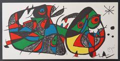 Escultor - Italy - Original signed lithograph - 1500 copies