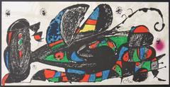 Escultor : Persia - Original signed lithograph - 1974