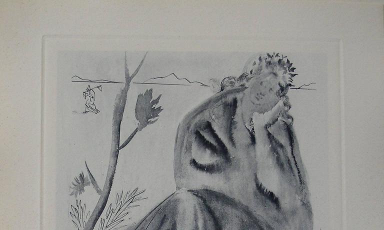 La Source - Engraving - 150 copies - Print by Salvador Dalí