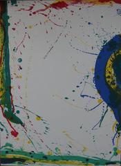 Abstract composition - Original lithograph