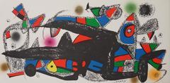 Escultor : Denmark - Original signed lithograph - 1974