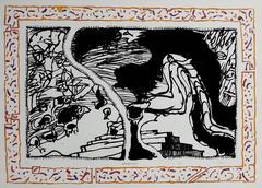 Sans L'Ecorce C - Original etching - Signed