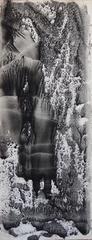 Black Waterfall - Original handsigned gouache