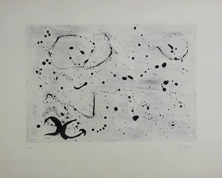 Fond Marin ( Seabed ) III - Original Etching Handsigned - 50 copies