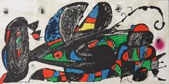 Joan Miró - Escultor : Persia - Original lithograph - 1974