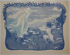 Enigma - Original lithograph - 1897